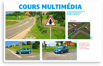 Apprendre et s'entraner au code de la route en ligne